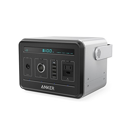 Anker PowerHouse, Compact 400Wh / 120, 000mAh Portable Outlet Generator
