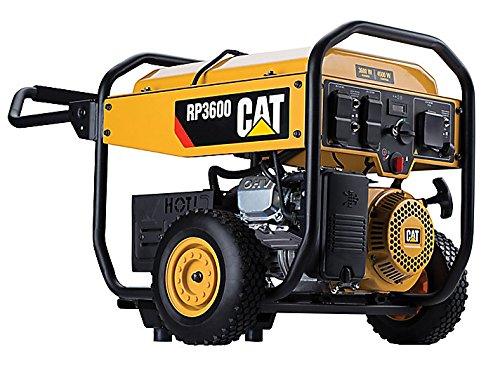 Cat RP3600 3600 Running Watts/4500 Starting Watts Gas Powered Portable Generator