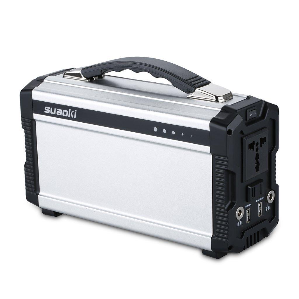 Suaoki Powerhouse 220Wh/20,000mAh Portable Generator