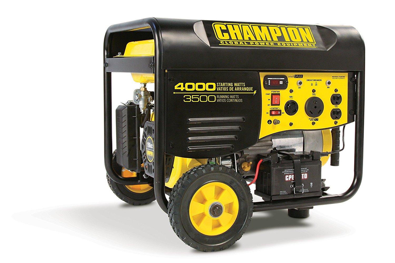 Champion Power Equipment 46539 3500 Watt RV Ready Portable Generator with Wireless Remote Start