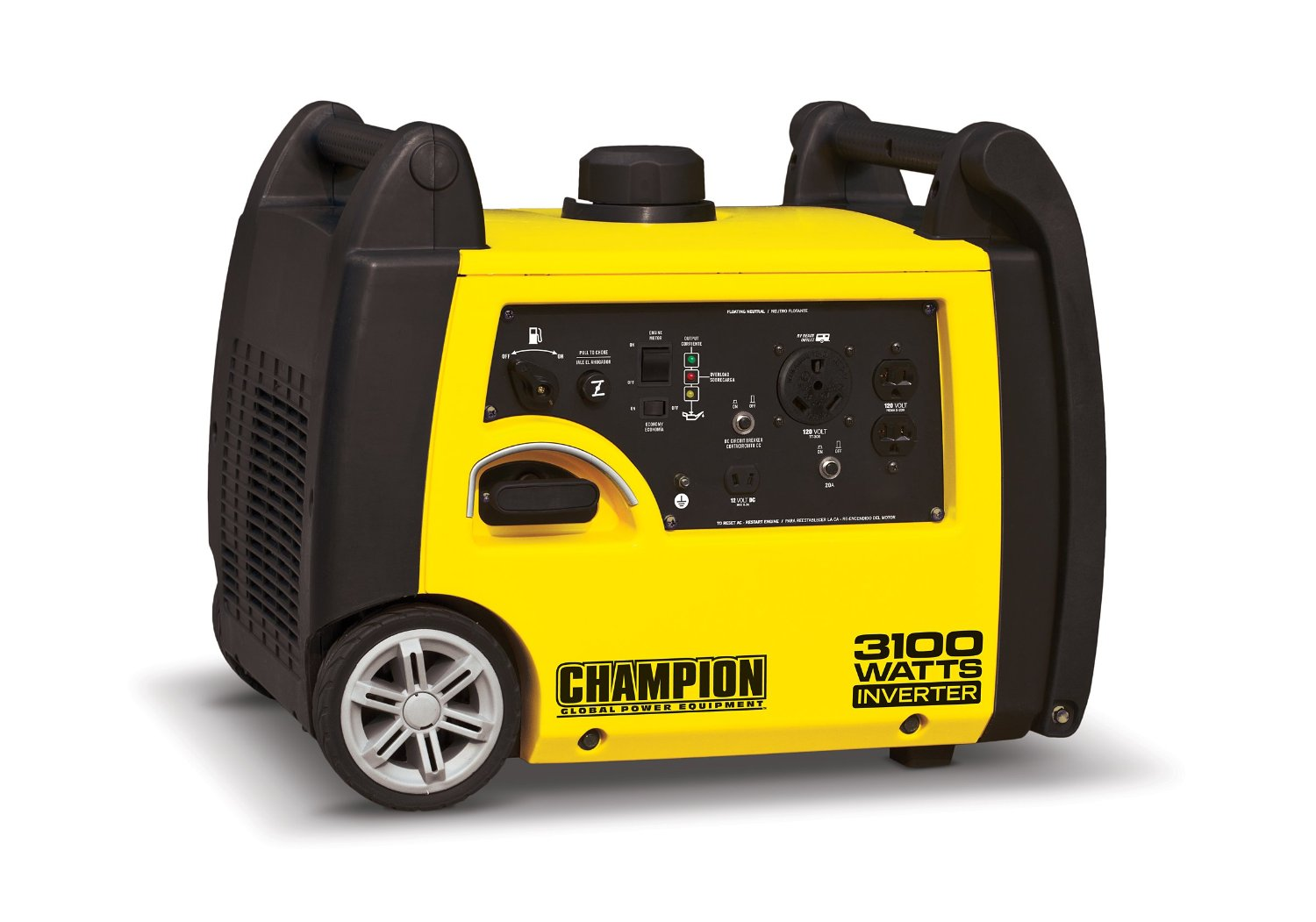 Champion Power Equipment 75531i 3100 Watt RV Ready Portable Inverter Generator