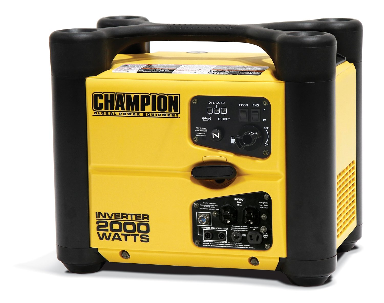 Champion Power Equipment 73536i 2000 Watt Stackable Portable Inverter Generator
