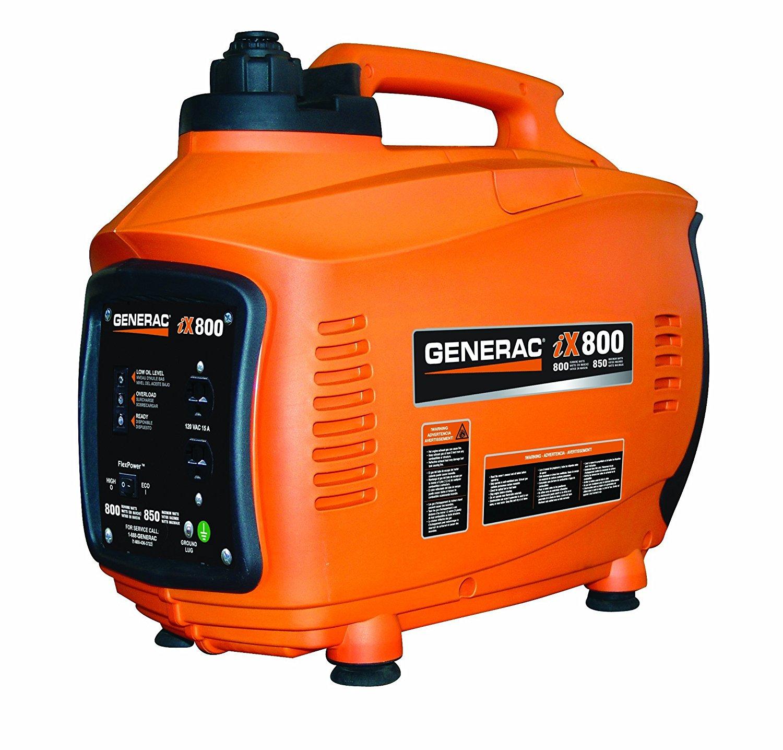 Generac 5791, 800 Running Watts/850 Starting Watts, Gas Powered Portable Inverter