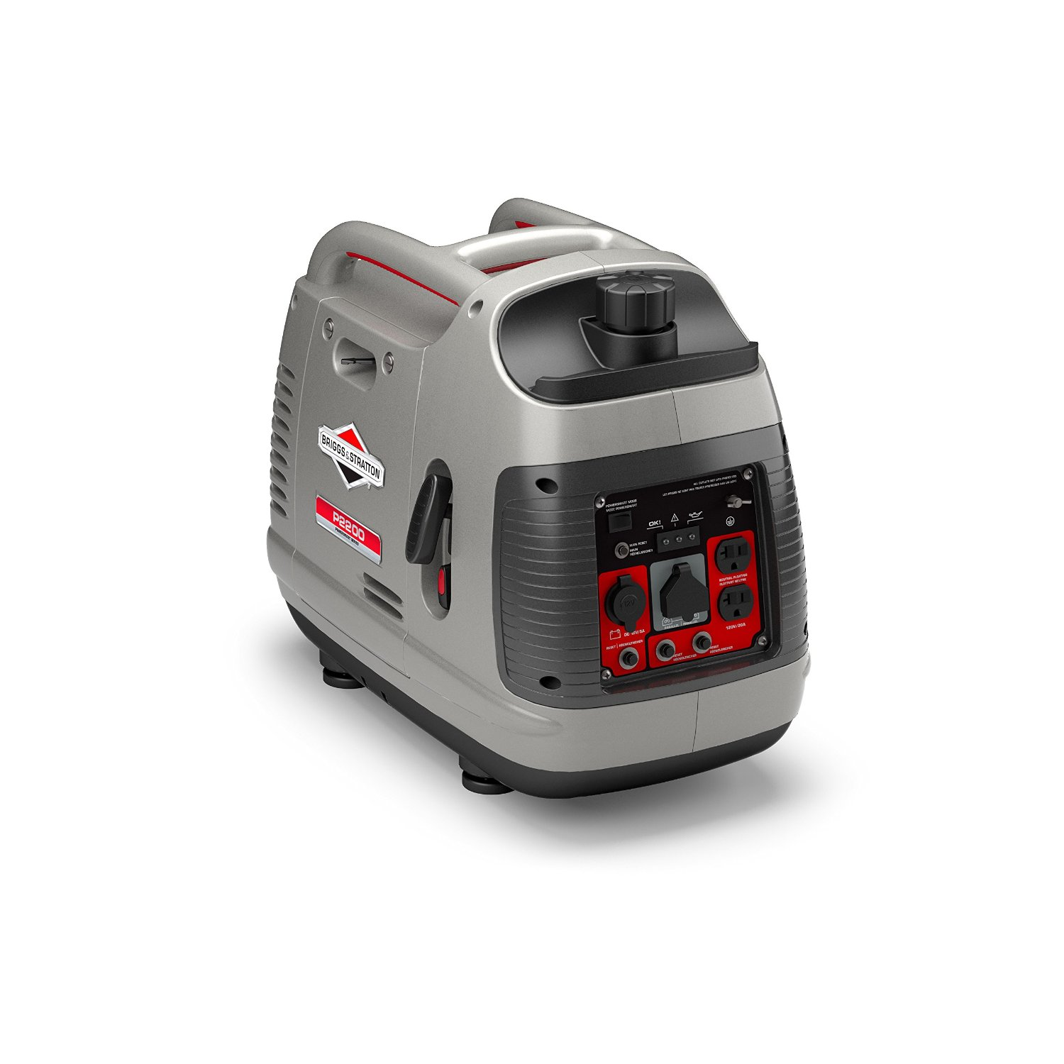 Briggs & Stratton 30651 P2200 PowerSmart Series Portable 2200-Watt Inverter Generator