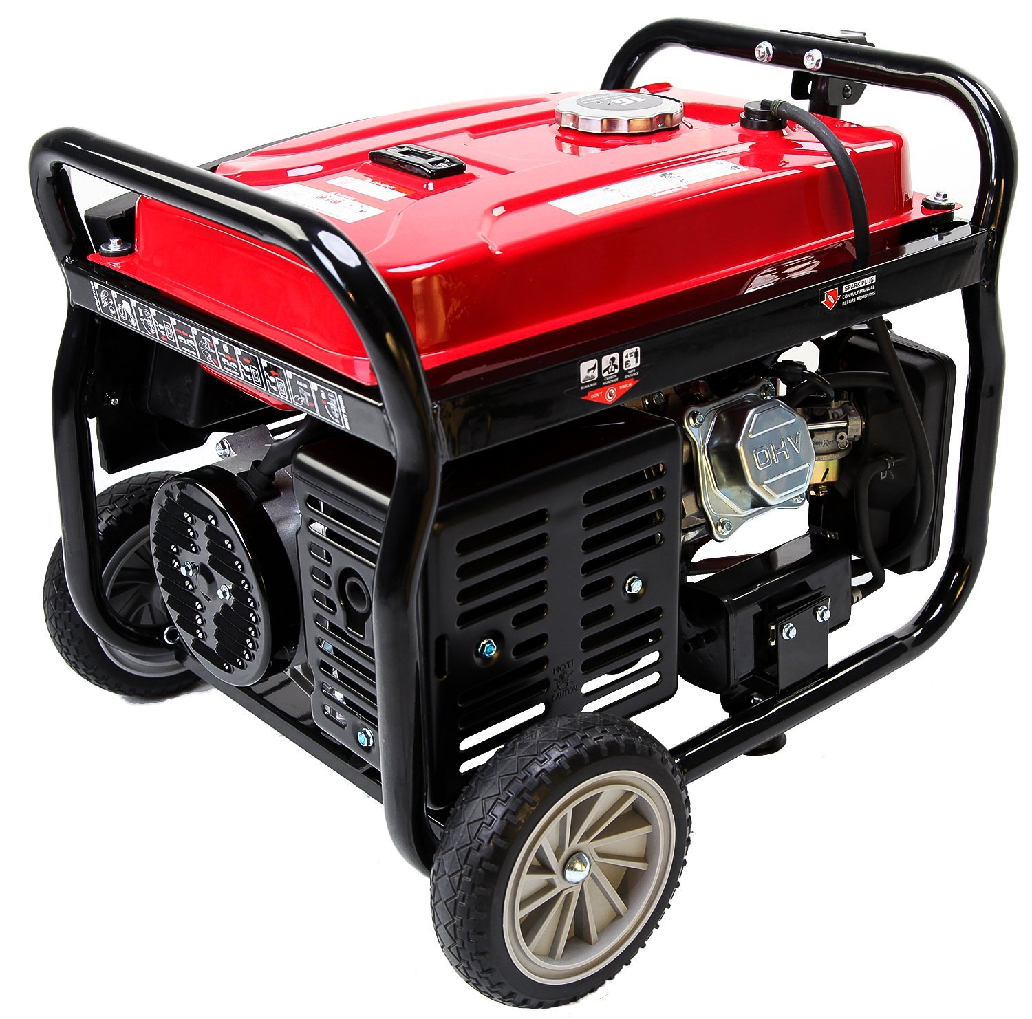Merax 4050-Watt 7.0 HP OHV 4 Gallon Gas Powered Portable Generator